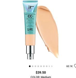 IT Oil Free Matte full coverage cream + SPF40